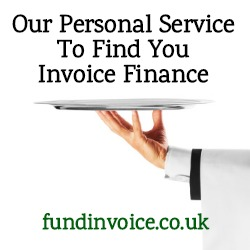 FundInvoice offers a personal service to find you invoice finance.