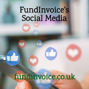 A list of all FundInvoice's social media channels.