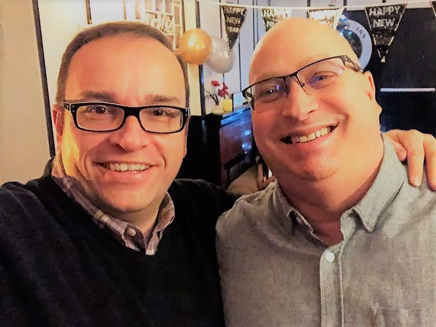 Glenn Blackman and Sean Morrow the Partners at FundInvoice.