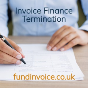 Our guide to termination of an invoice finance facility by the provider or the client.