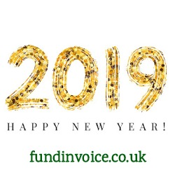 FundInvoice wishes you a very Happy New Year 2019!