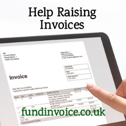Help raising sales invoices to customers on credit terms.