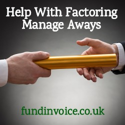 If you have, or are, a factoring client to manage away to another lender, we can help.