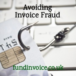 A concerning method of invoice fraud gaining credit using amended financial accounts.