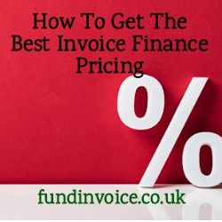 Tips on how to get the best invoice finance pricing.