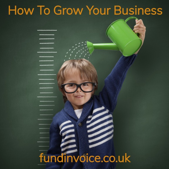 Business growth guide with ideas about growing your business.