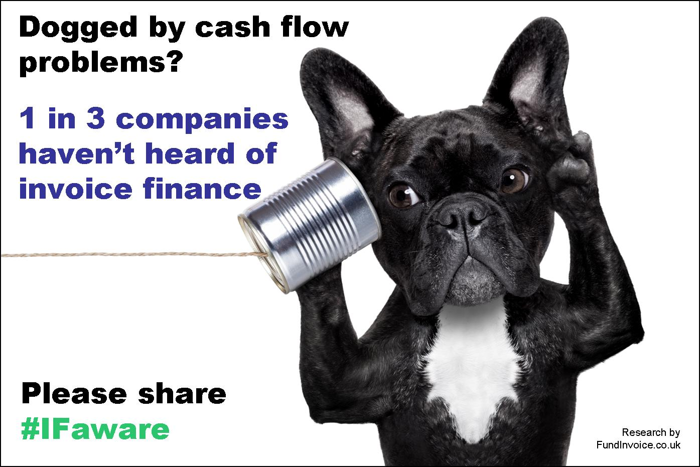 Are you dogged by cash flow problems? Have you heard of invoice finance?
