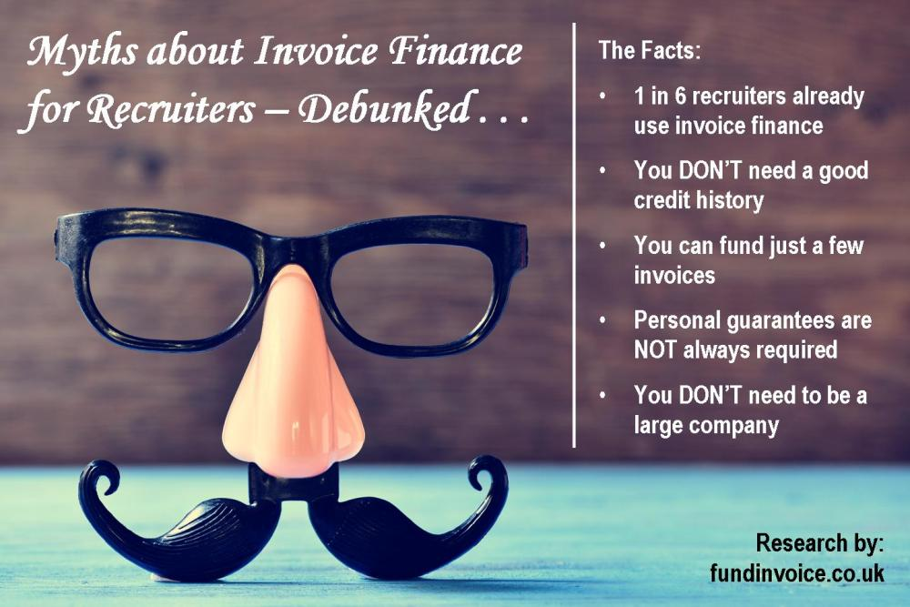 Myths About Invoice Finance For Recruiters Debunked