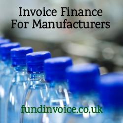 As manufacturers struggle to find business finance, invoice finance could be the answer.