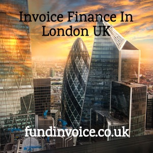 Invoice finance support for London based companies in the UK.