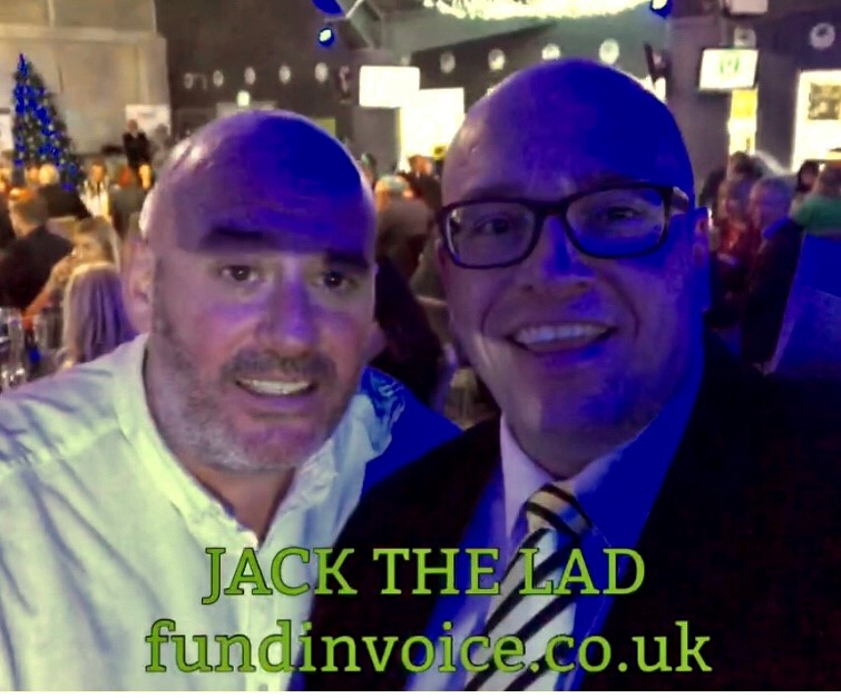 Jack The Lad, More Radio DJ was kind enough to make this video clip.