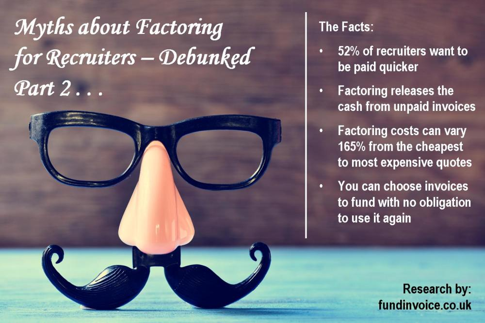 Myths About Factoring For Recruiters Debunked