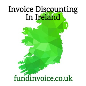 PCID protected confidential invoice discounting for a client based in Ireland.