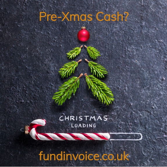 There's still time to get a pre-Christmas business cash flow injection.