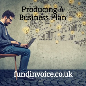 Producing a professional business plan to support a business finance application.