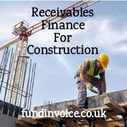 Receivables finance help for construction companies rejected for invoice finance.