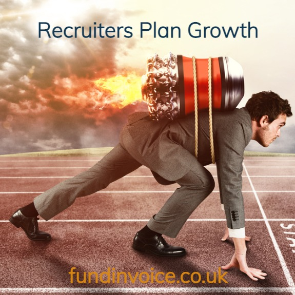 Recruiters are planning growth over the next year.