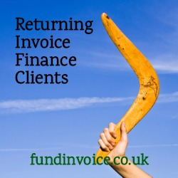 A nice example of an invoice finance client that left us coming back for help.