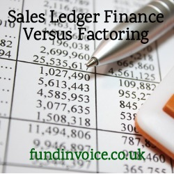 Sales ledger finance versus factoring, the differences explained.