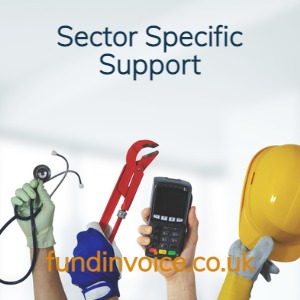 Business finance support for your industry sector.