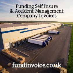 Funding self insure and accident management company invoices