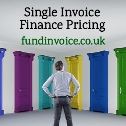 How single invoice finance and selective invoice finance prices work.