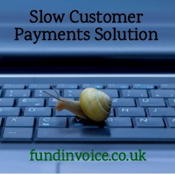 A solution to slow customer payments in the construction sector.