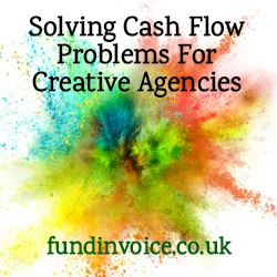 Solving cash flow problems for creative sectors like TV, film, music, fashion, advertising and publishing.