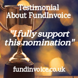 Testimonial about FundInvoice from an invoice finance company.
