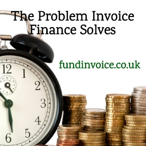 Waiting to get paid is the problem that invoice finance solves.