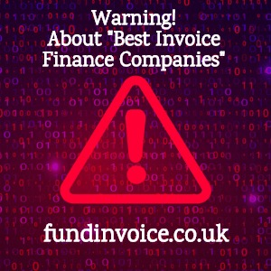 """Warning about lists of the """"best invoice finance companies""""."""