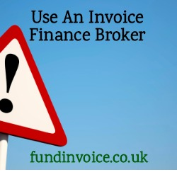 An example of what can happen if you don't use an invoice finance broker.