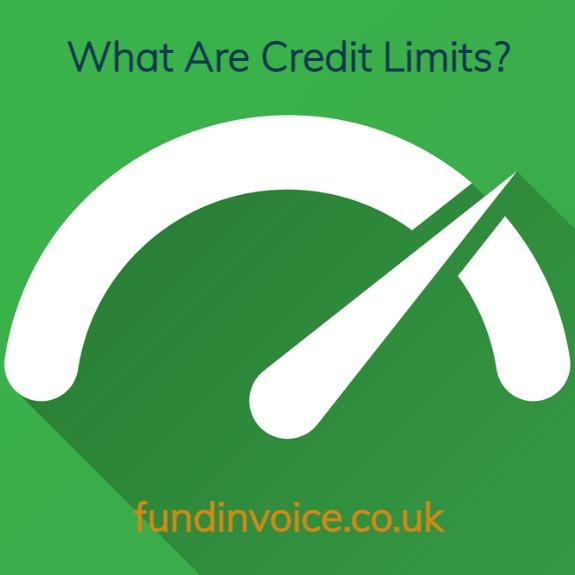 What are credit limits and how do they work in invoice finance and factoring.