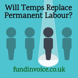 Will temporary staff hire replace permanent recruitment?