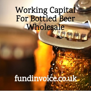 Working capital facility for a bottled beer wholesaler in Scotland.
